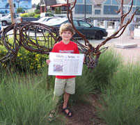 Jesse Vining raises funds to purchase Elk sculpture